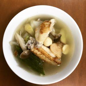 手羽中の美肌薬膳スープ