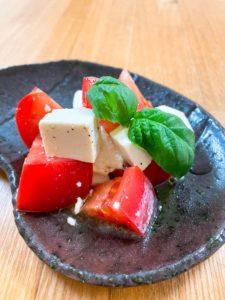 トマトときゅうり、凍雨の熱冷まし薬膳